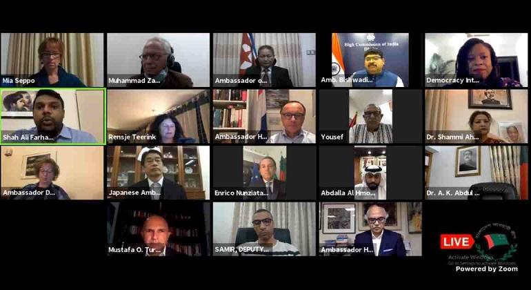 Sheikh Hasina champion of human security: Diplomats