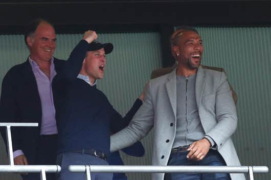 Prince William salutes Aston Villa's 7-2 thumping of Premier League champions Liverpool FC