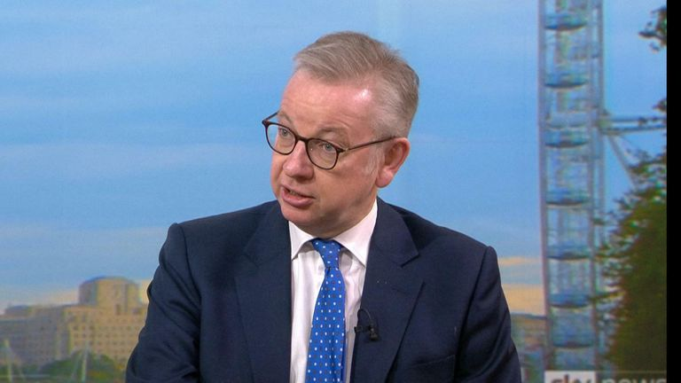 <span style='color:#333;font-size:18px;'>Coronavirus:</span><br> Michael Gove accuses Greater Manchester mayor Andy Burnham of 'posturing' over COVID rules stand-off