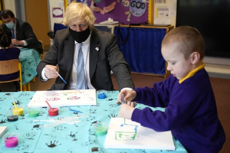 PM vows to stick with cautious lockdown approach as schools prepare to return