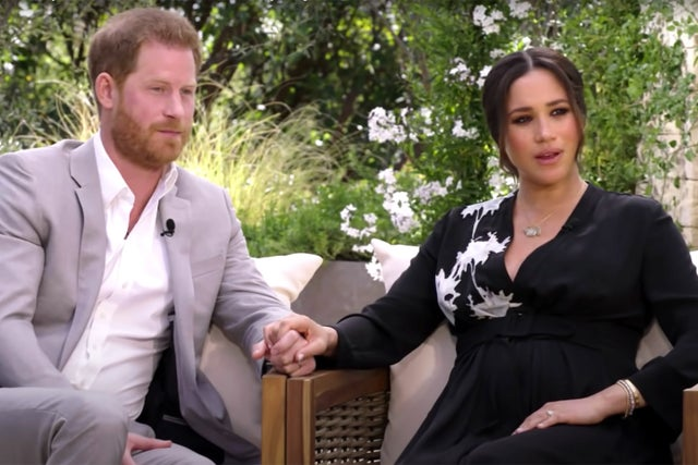 <span style='color:#333;font-size:18px;'>Meghan Markle Oprah interview</span><br> Duchess of Sussex accuses 'The Firm' of 'perpetuating falsehoods' in bombshell for royals