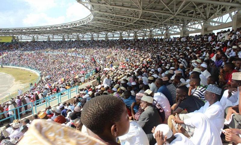 তানজানিয়ায় স্টেডিয়ামে কোরআন প্রতিযোগিতা