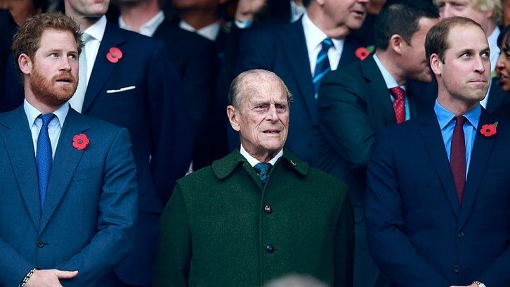 Prince Harry pays tribute to Prince Philip