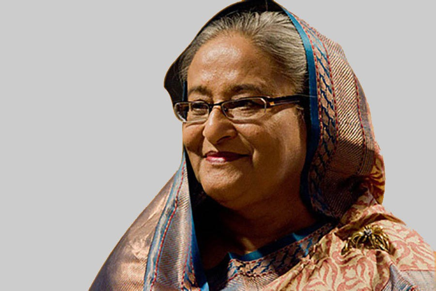 Sheikh Hasina donates Tk 10cr privately for Covid-19 affected, homeless people
