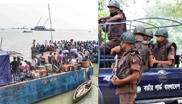 BGB deployed on Paturia-Daulatdia, Shimulia-Banglabazar routes