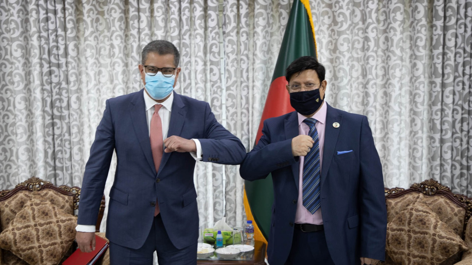 Dhaka-London for signing climate accord before COP26