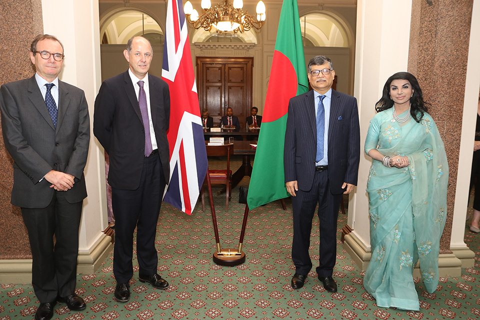 The UK and Bangladesh hold their fourth Strategic Dialogue