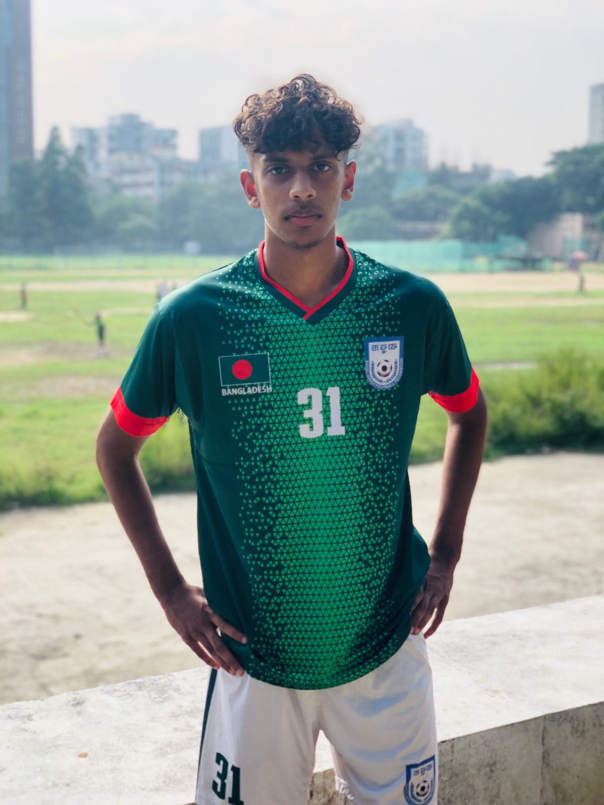 Young footballing sensation Yousuf from Barking joins Bangladesh National Football Squad for the SAFF Championship
